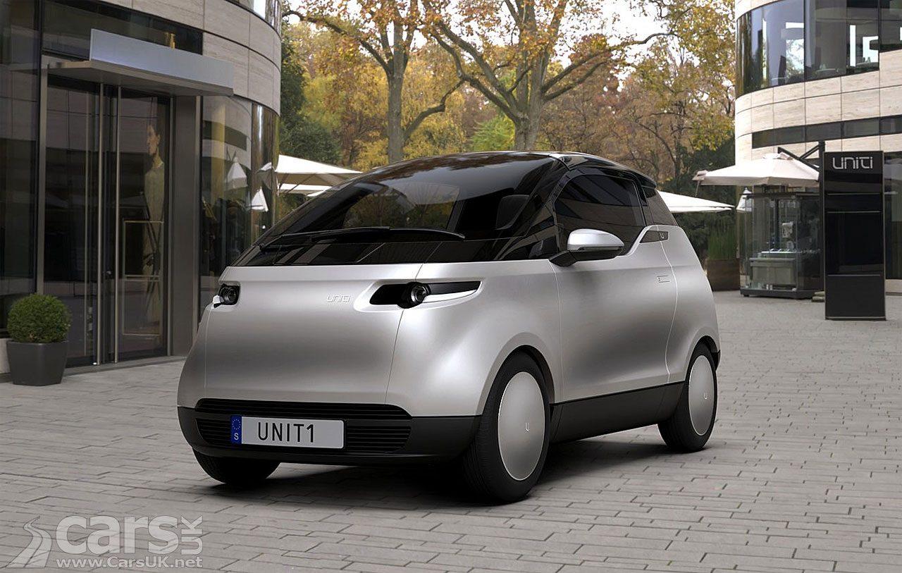 Photo Uniti One electric city car