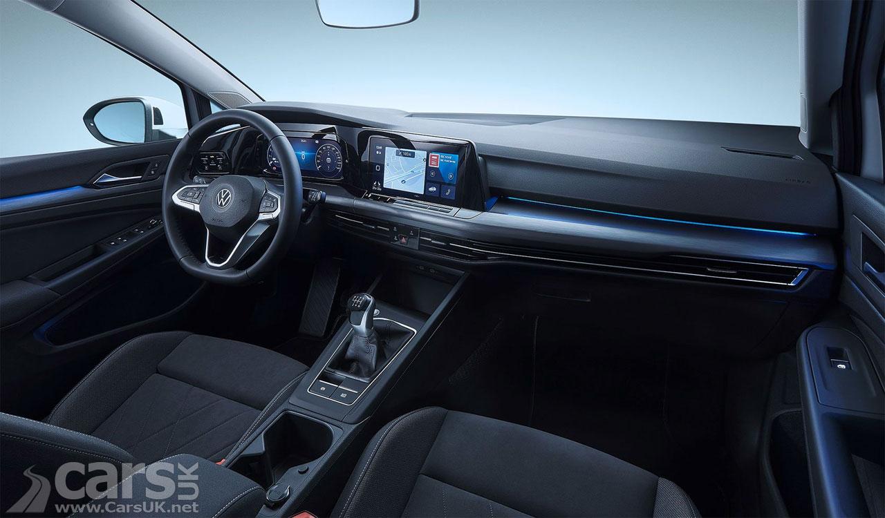 Photo Volkswagen Golf Mk8 Interior