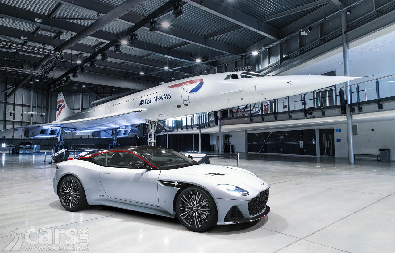 Photo Aston Martin DBS Superleggera Concorde Edition and Concorde
