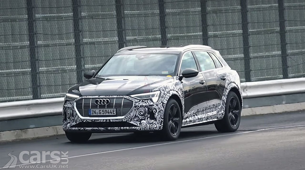 Spy Photo Audi E-Tron S