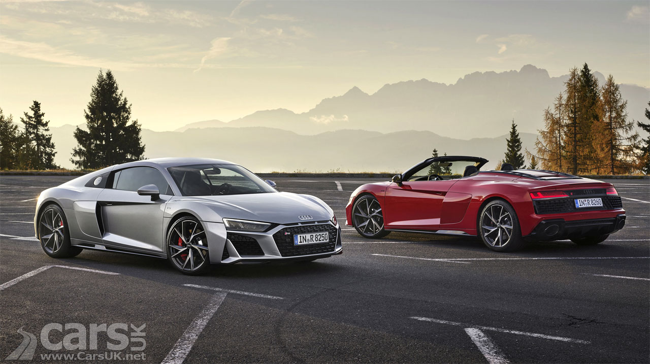 Photo New Audi R8 V10 RWD Coupe and Spyder