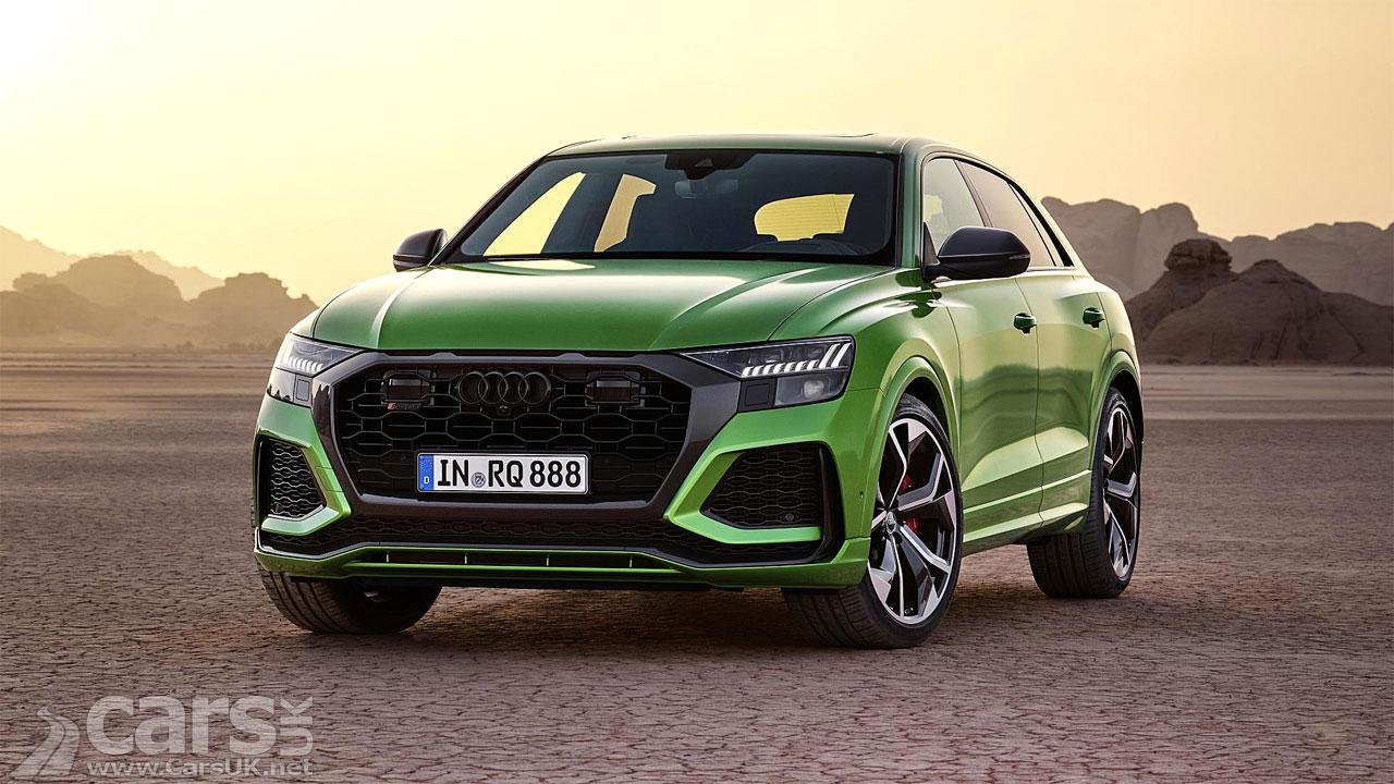 Photo New Audi RS Q8