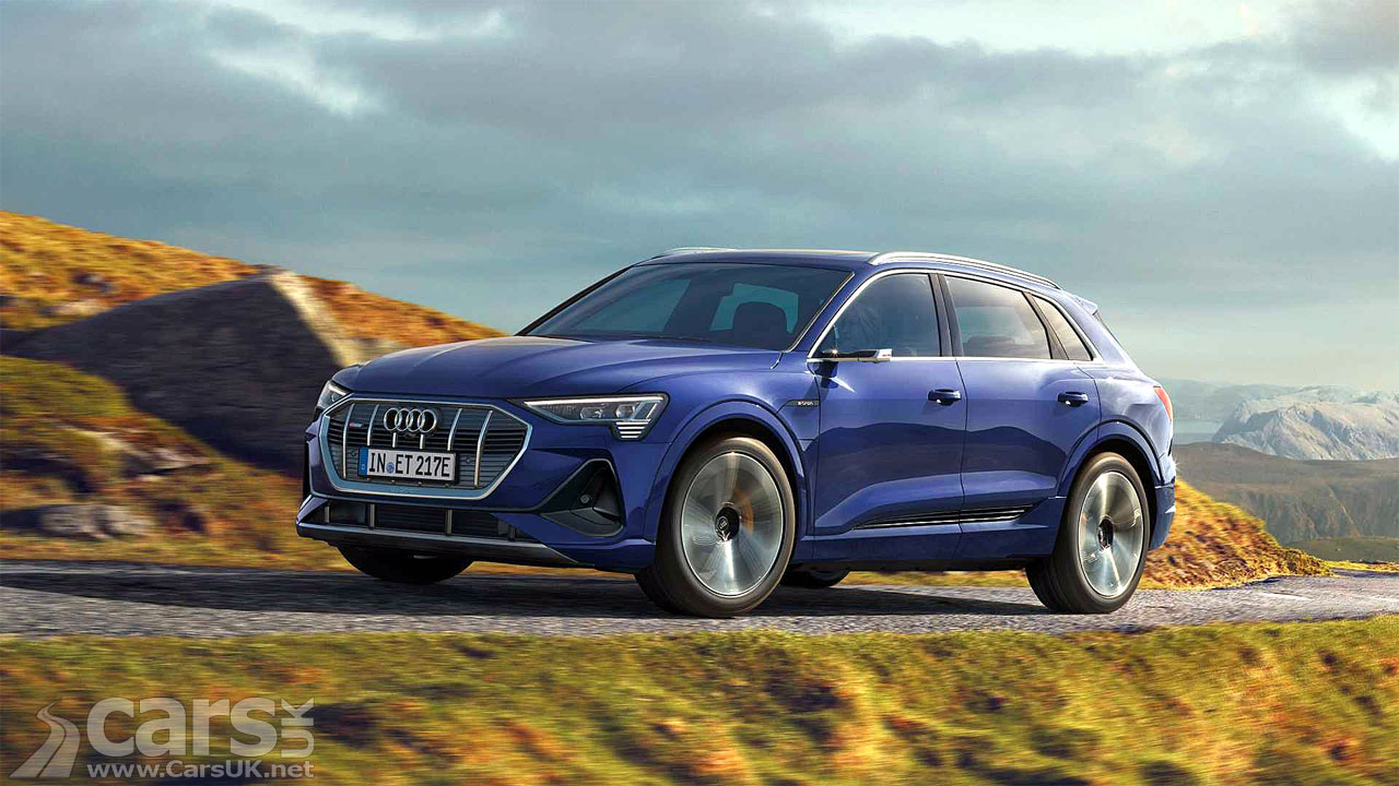 Photo Electric Audi E-Tron improved range