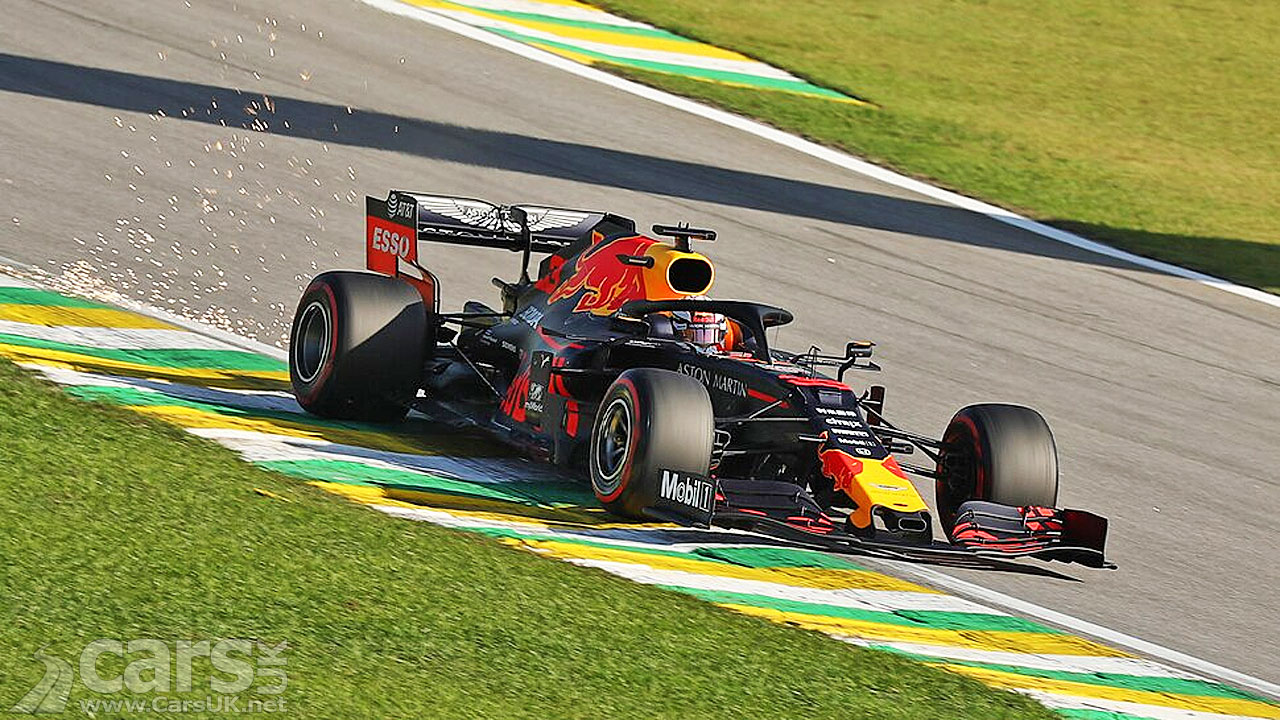 Photo Max Verstappen takes POLE for Red Bull at Brazilian Grand Prix
