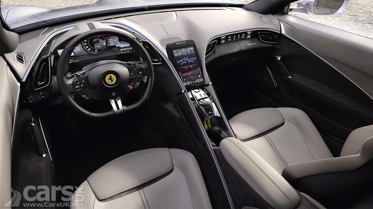 Photo Ferrari Roma Interior