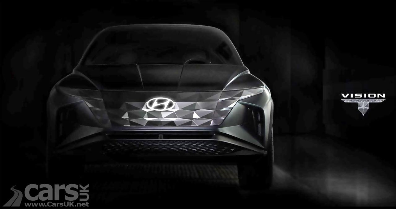 Photo Hyundai Vision T plug-in hybrid SUV tease