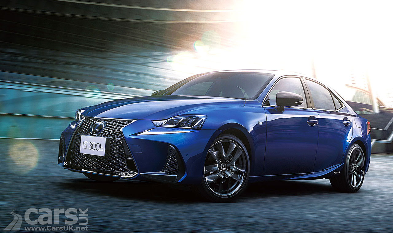 Photo Lexus IS F Sport I Blue