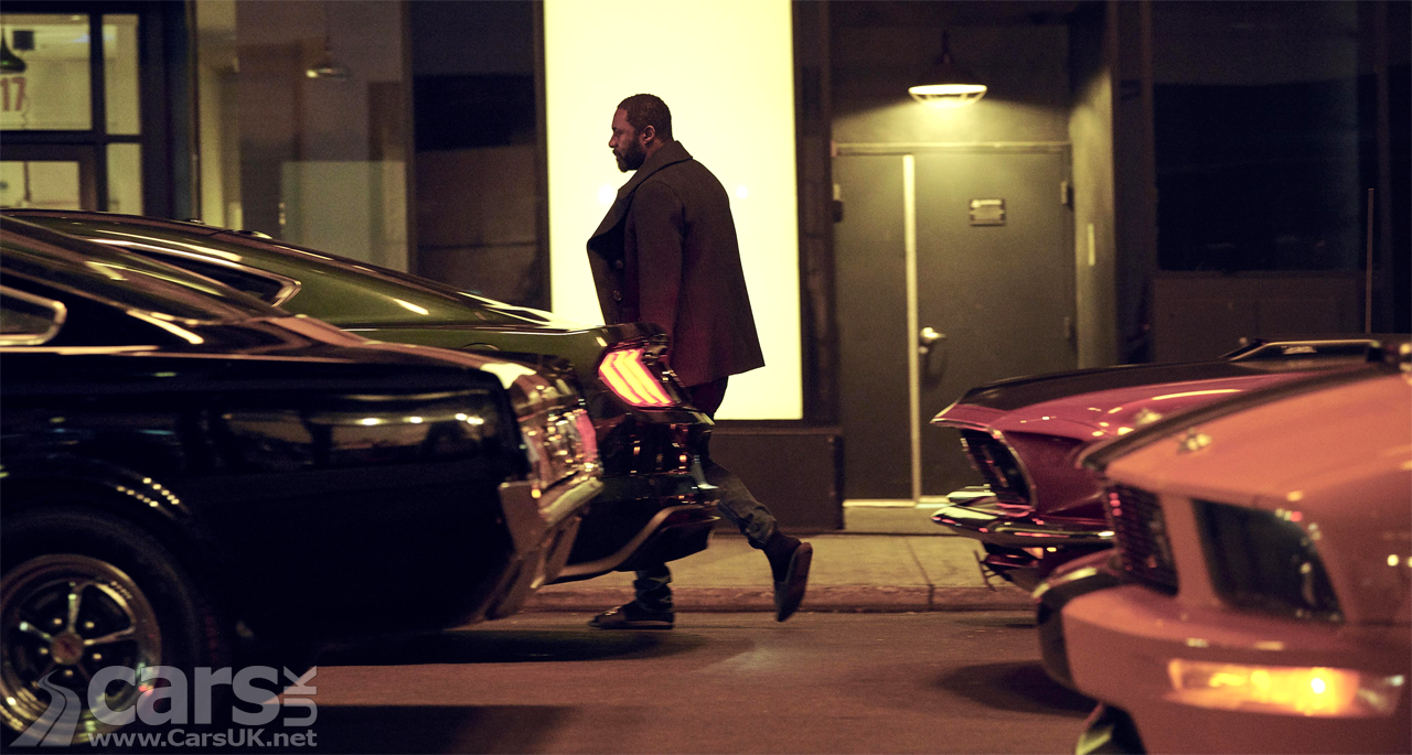 Photo Idris Elba Ford Mustang Electric SUV