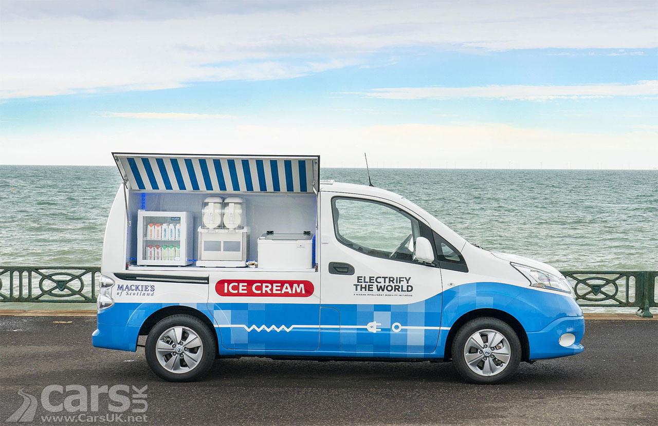 Photo Nissan Electric Ice Cream Van