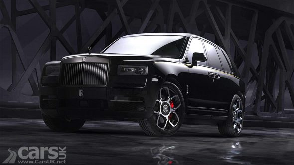 Photo Rolls-Royce Cullinan Black Badge