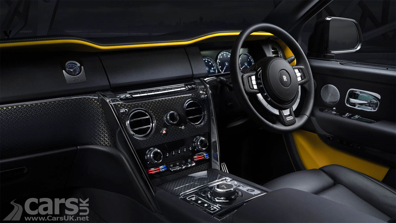 Photo Rolls-Royce Cullinan Black Badge interior