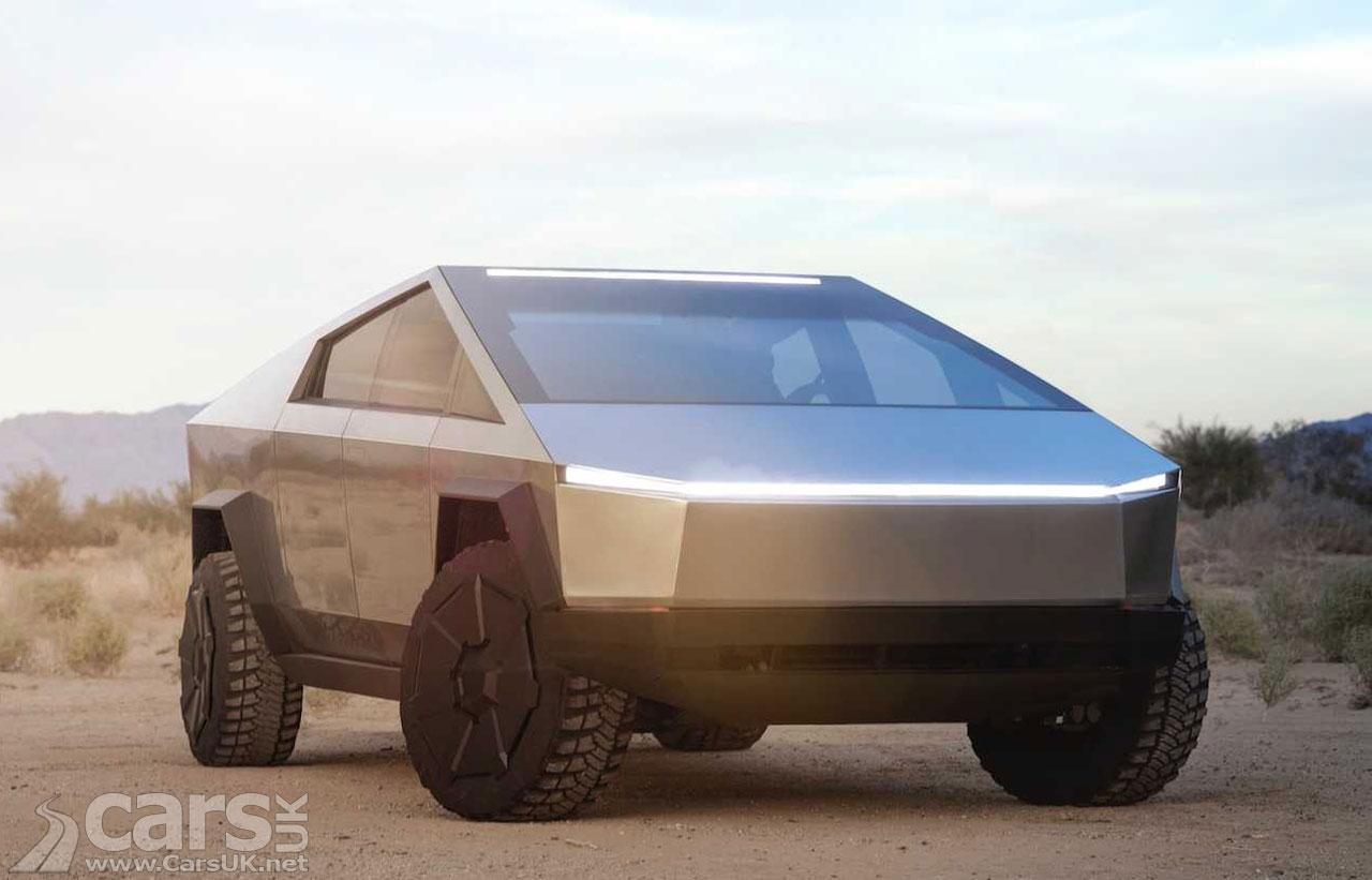 Photo New Tesla Cybertruck Pick-up
