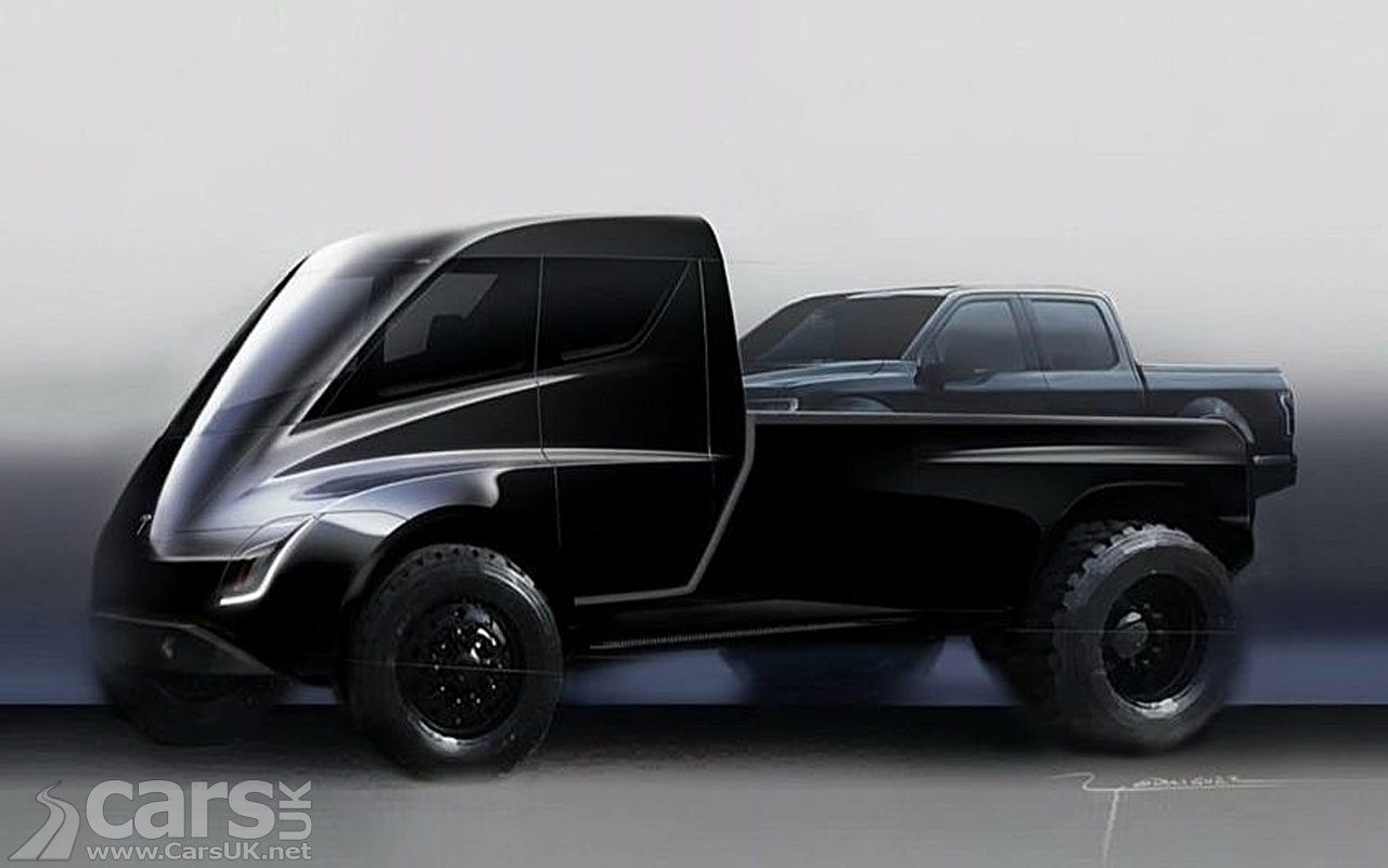 Photo Tesla Pick-up tease