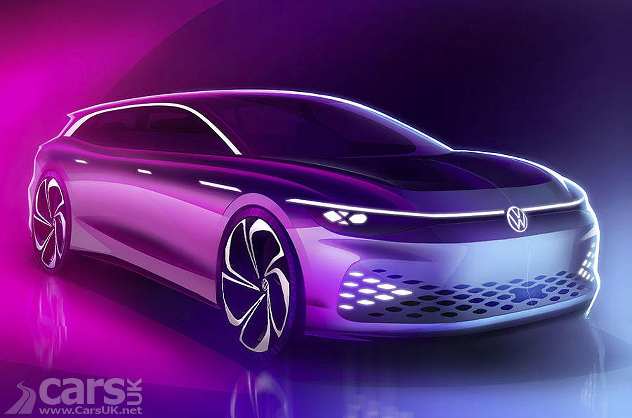 Volkswagen ID. Space Vizzion sketch tease