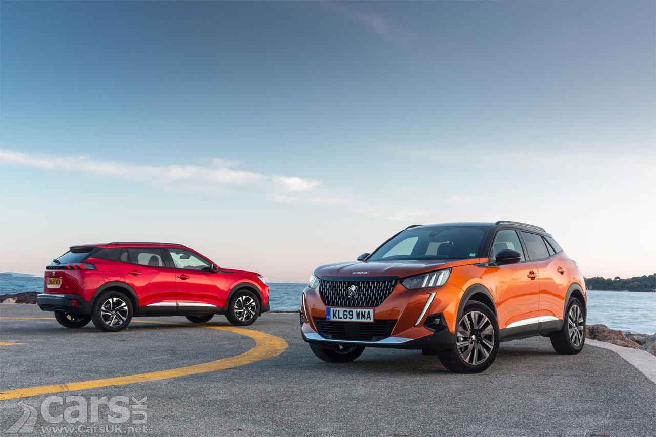 Photo 2020 Peugeot e-2008 and 2008