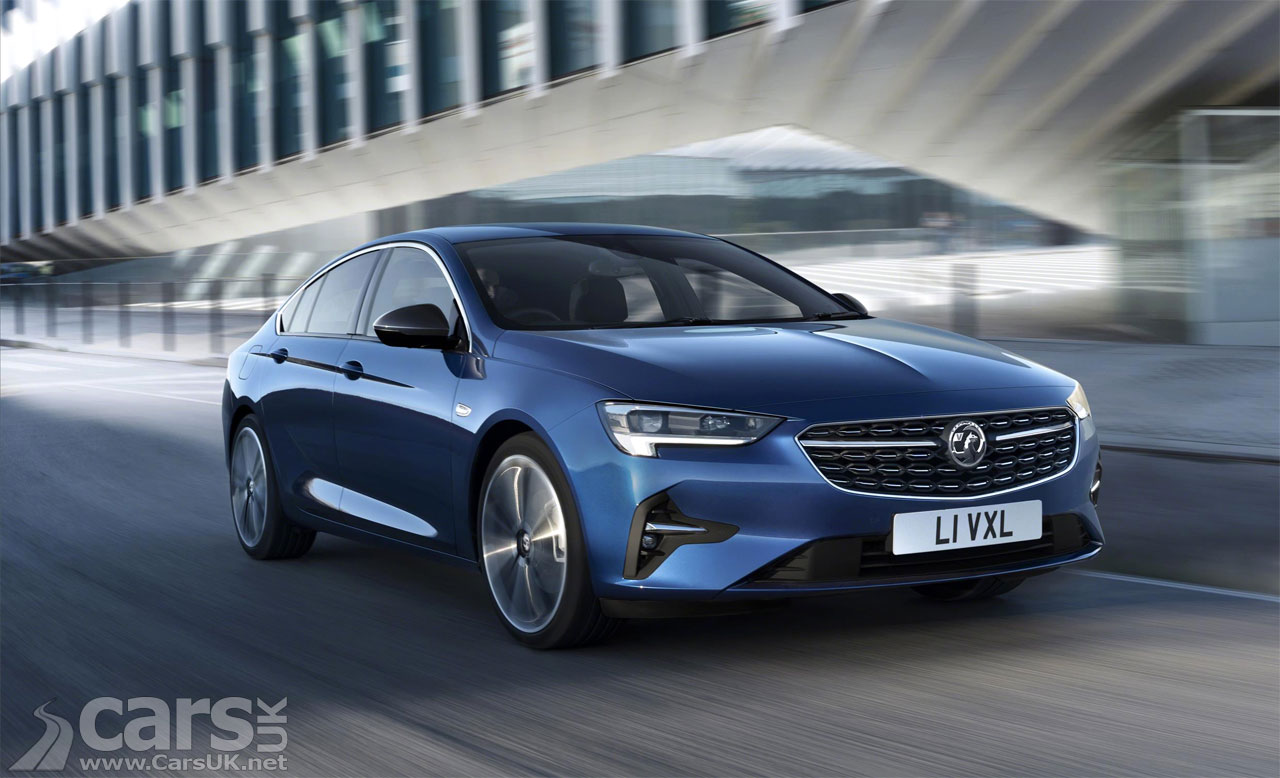 Photo 2020 Vauxhall Insignia Facelift