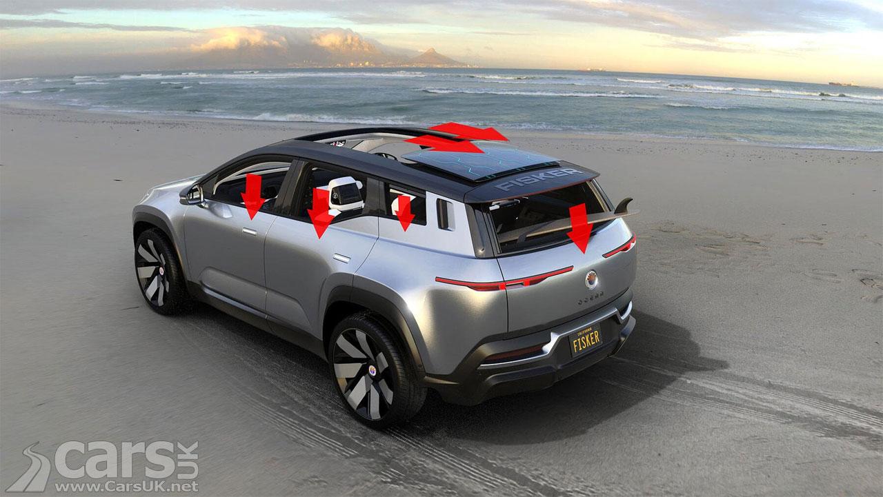 Photo Fisker Ocean Electric SUV reveals its 'California Mode'