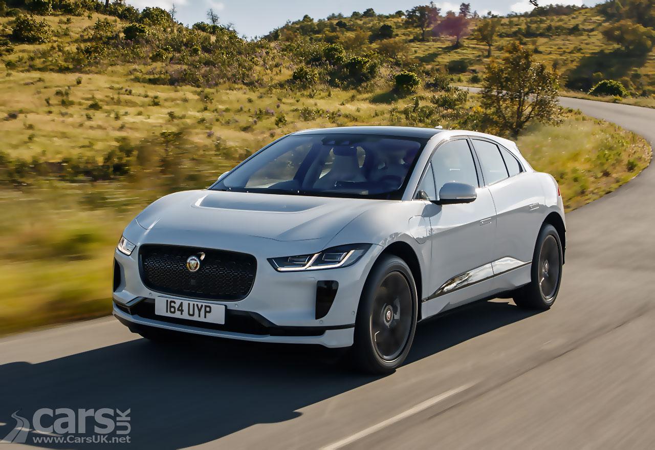 Photo Jaguar I-Pace Software Update