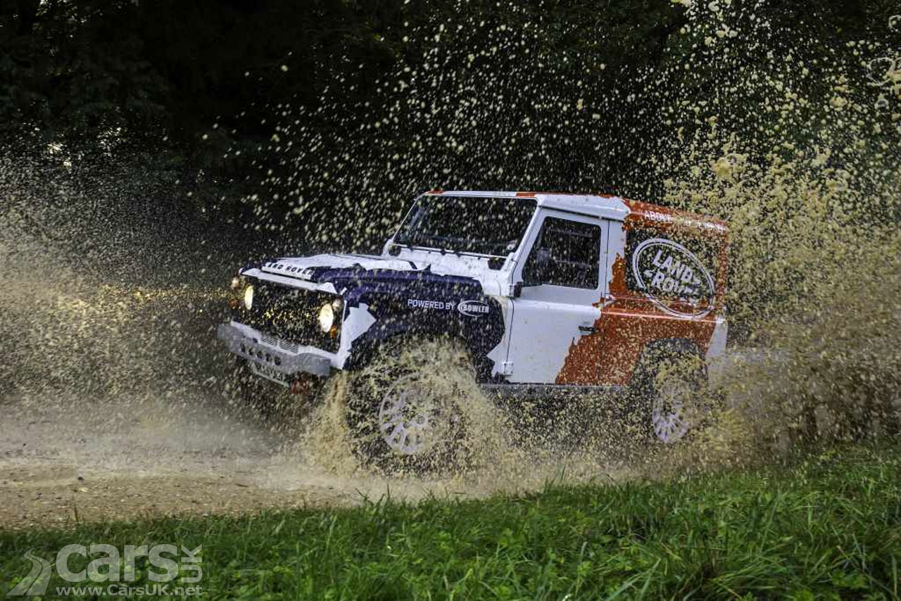 Photo Land Rover Bowler