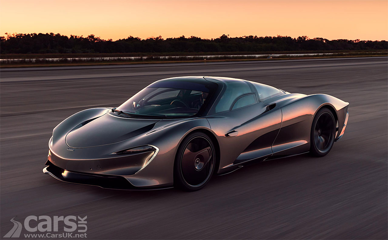 Photo McLaren Speedtail hits 250mph