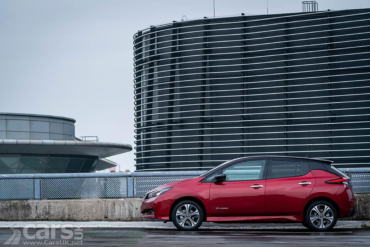 Photo Nissan LEAF Car of the Year