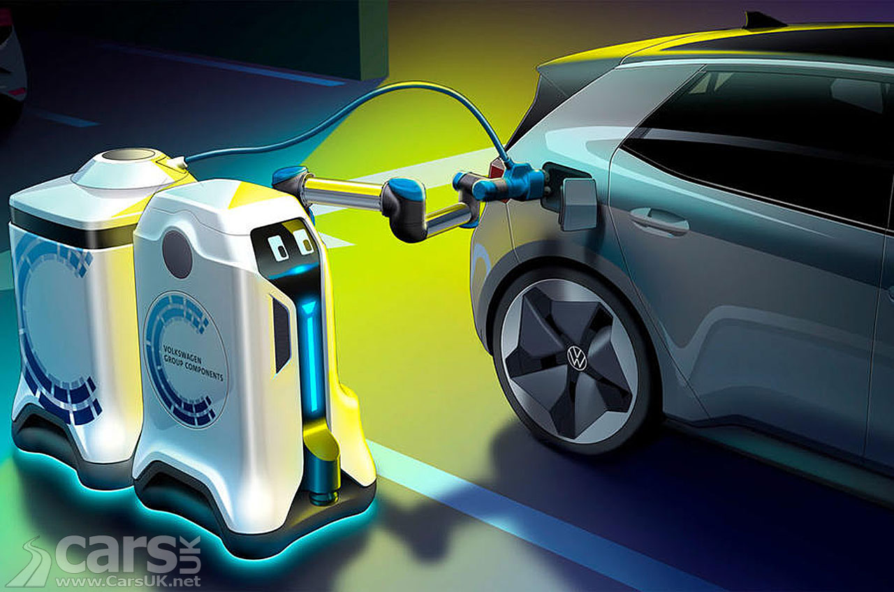 Photo Volkswagen 'Charging Robots'