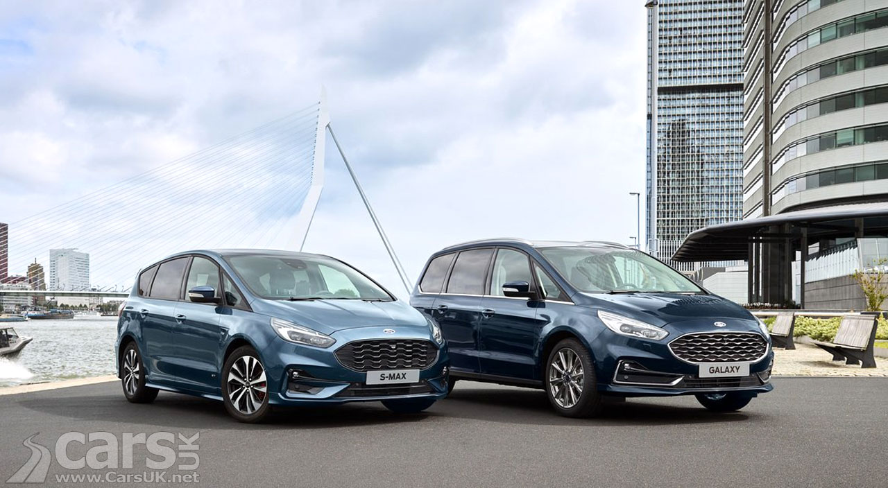 Photo Ford Galaxy and S-MAX Hybrid