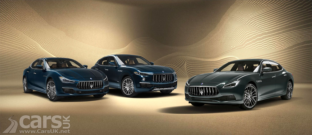 Photo Maserati Quattroporte, Levante and Ghibli Royale Special Editions