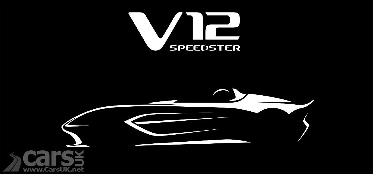 Photo Aston Martin V12 Speedster tease