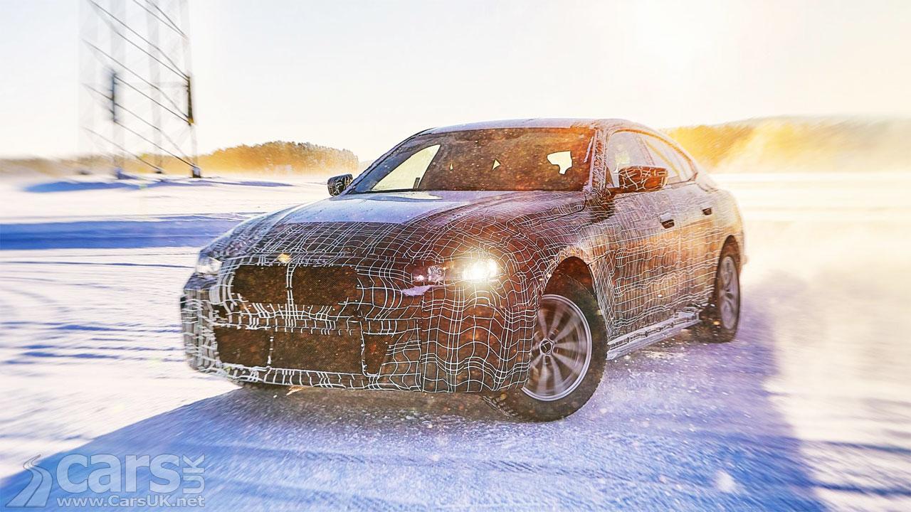 Photo electric BMW i4