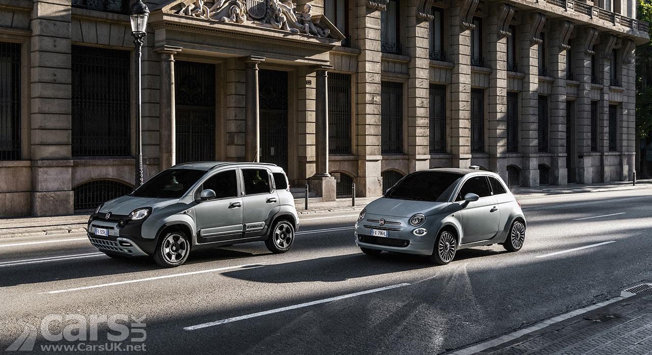 Photo New Fiat 500 Hybrid and Panda Hybrid UK prices