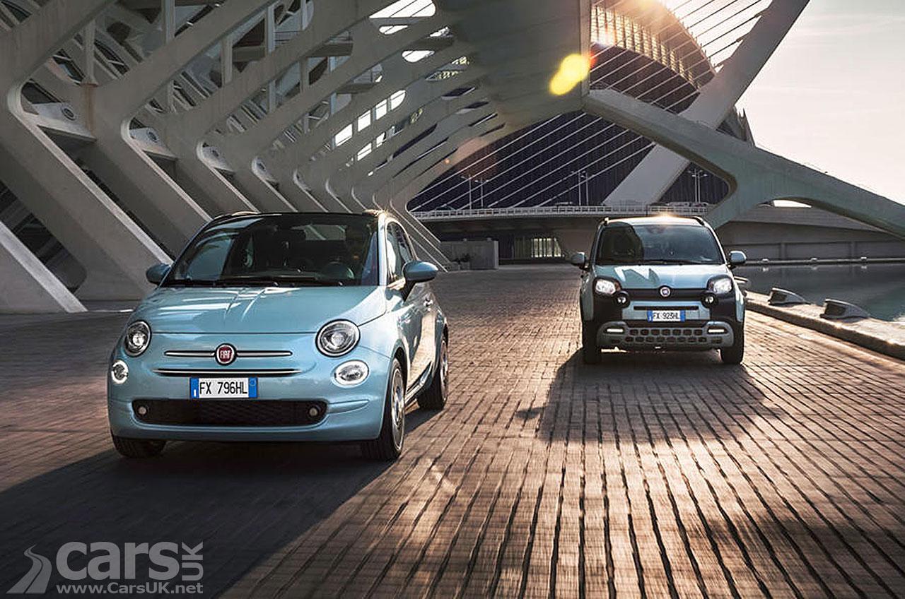 Photo Fiat 500 and Fiat Panda Mild Hybrid