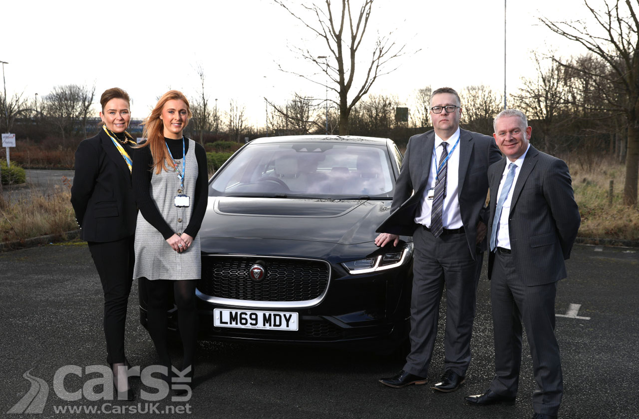 Photo 700 electric Jaguar I-Pace for Public Sector staff