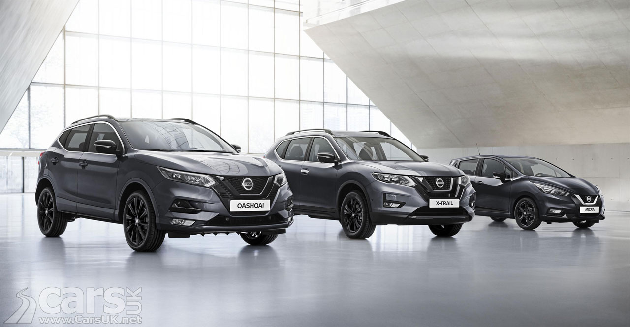 Photo Nissan Qashqai, X-Trail and Micra N-TEC