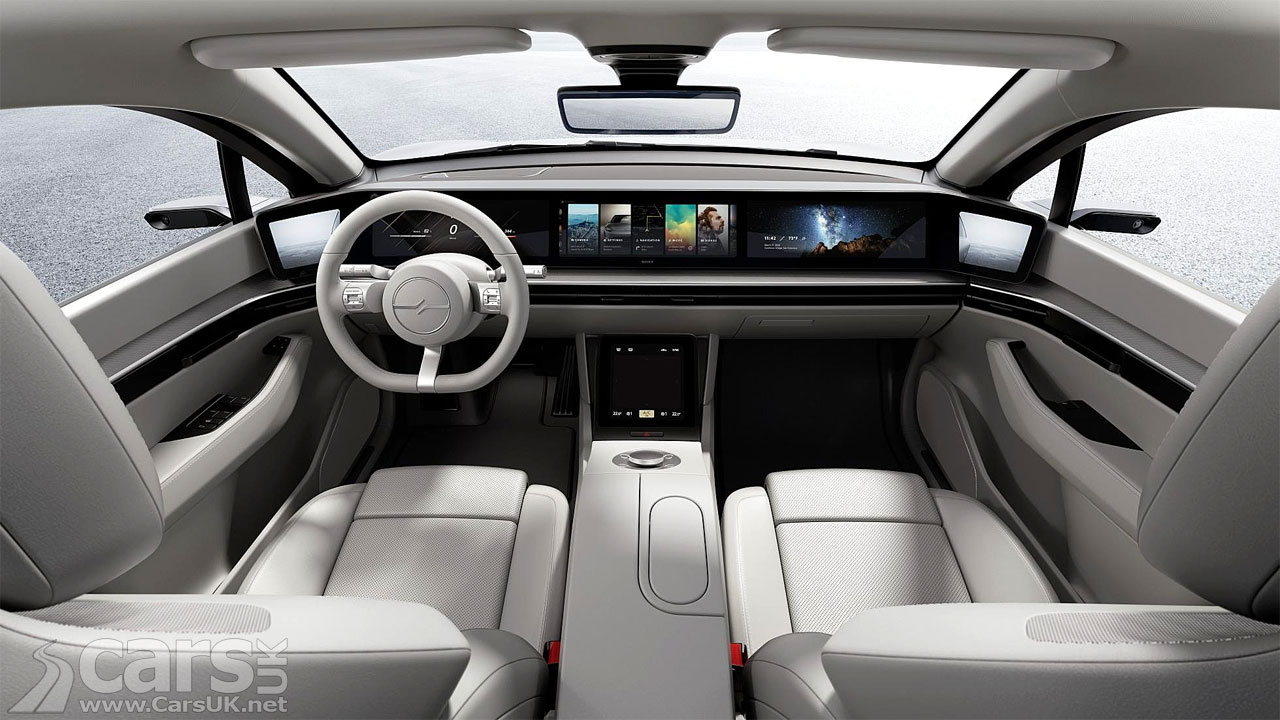 Photo Sony Vision-S Electric Car Concept Interior