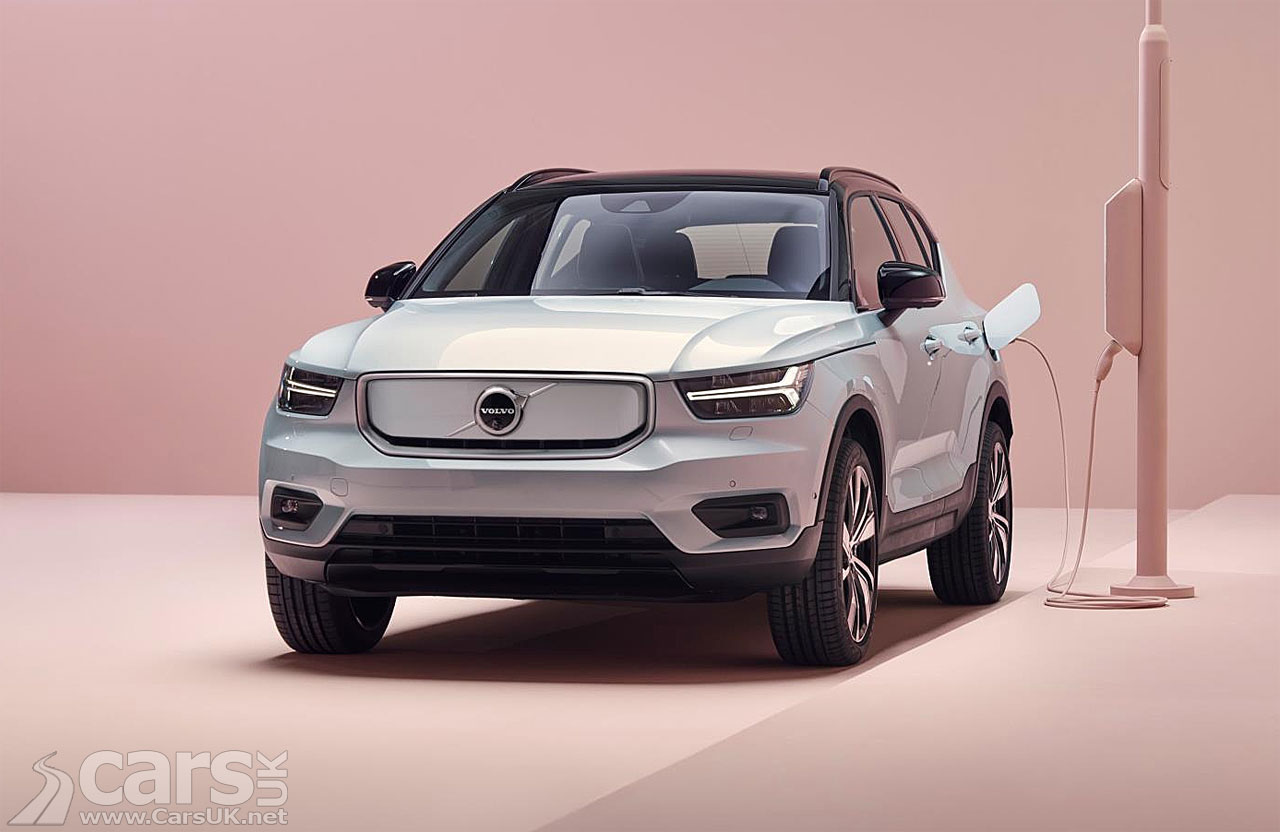 Photo Electric Volvo XC40 Recharge goes on sale