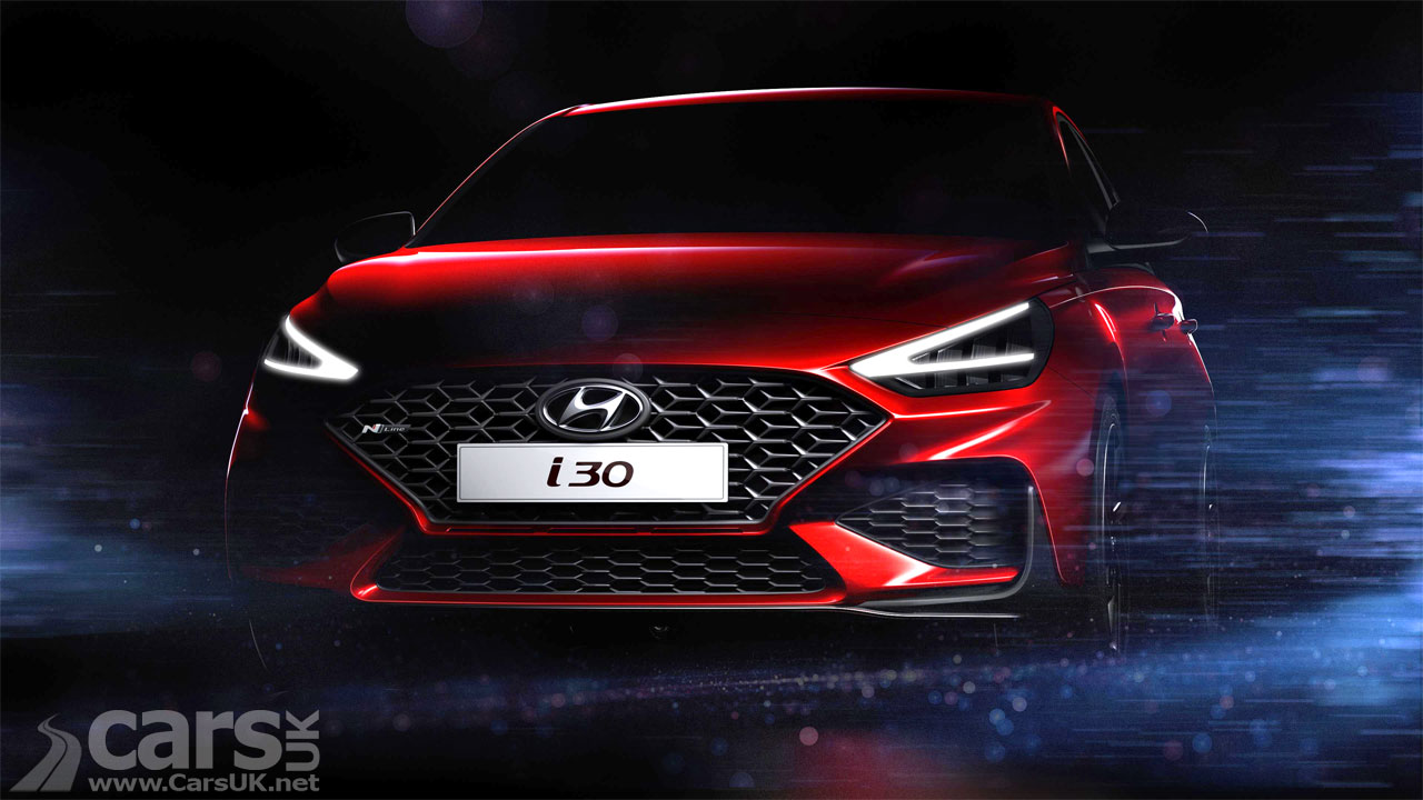 Photo 2020 Hyundai i30 facelift tease