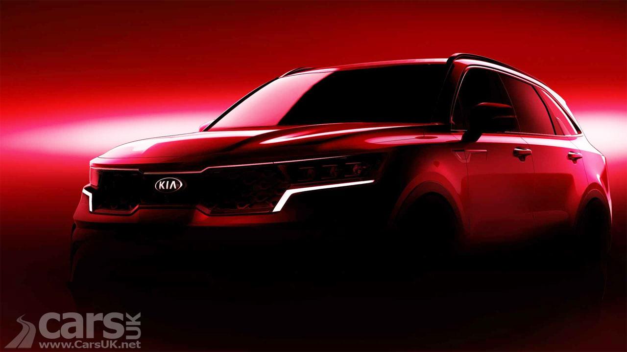 Photo New Kia Sorento SUV tease
