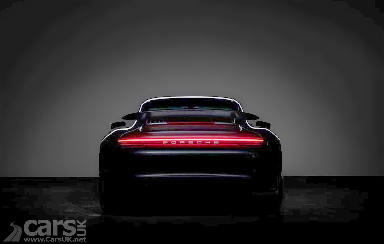 Photo New Porsche 911 Turbo S teased