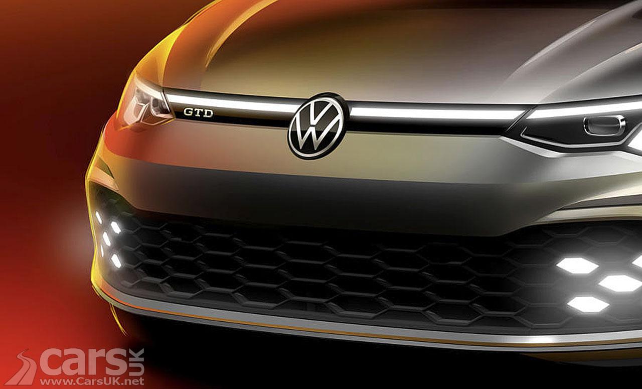 Photo 2020 Volkswagen Golf GTD tease