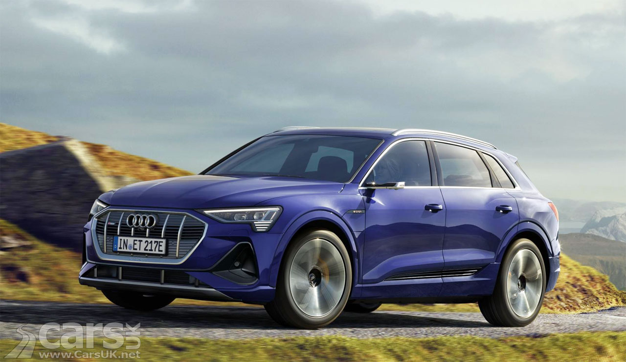 Photo Audi e-tron 50 UK