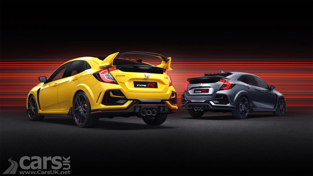 Photo Honda Civic Type R Sport Line and Honda Civic Type R Limited Edition
