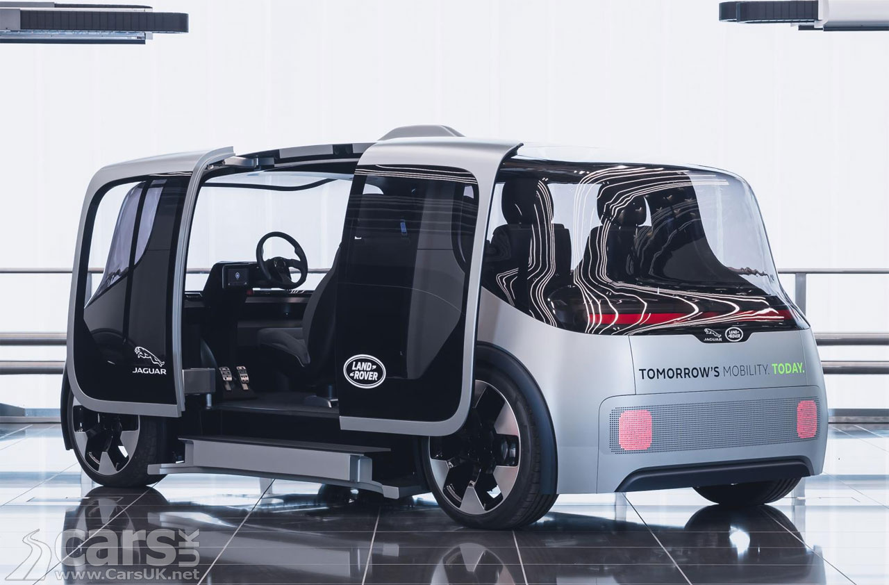 Photo Jaguar Land Rover Project Vector electric Urban 'Pod'