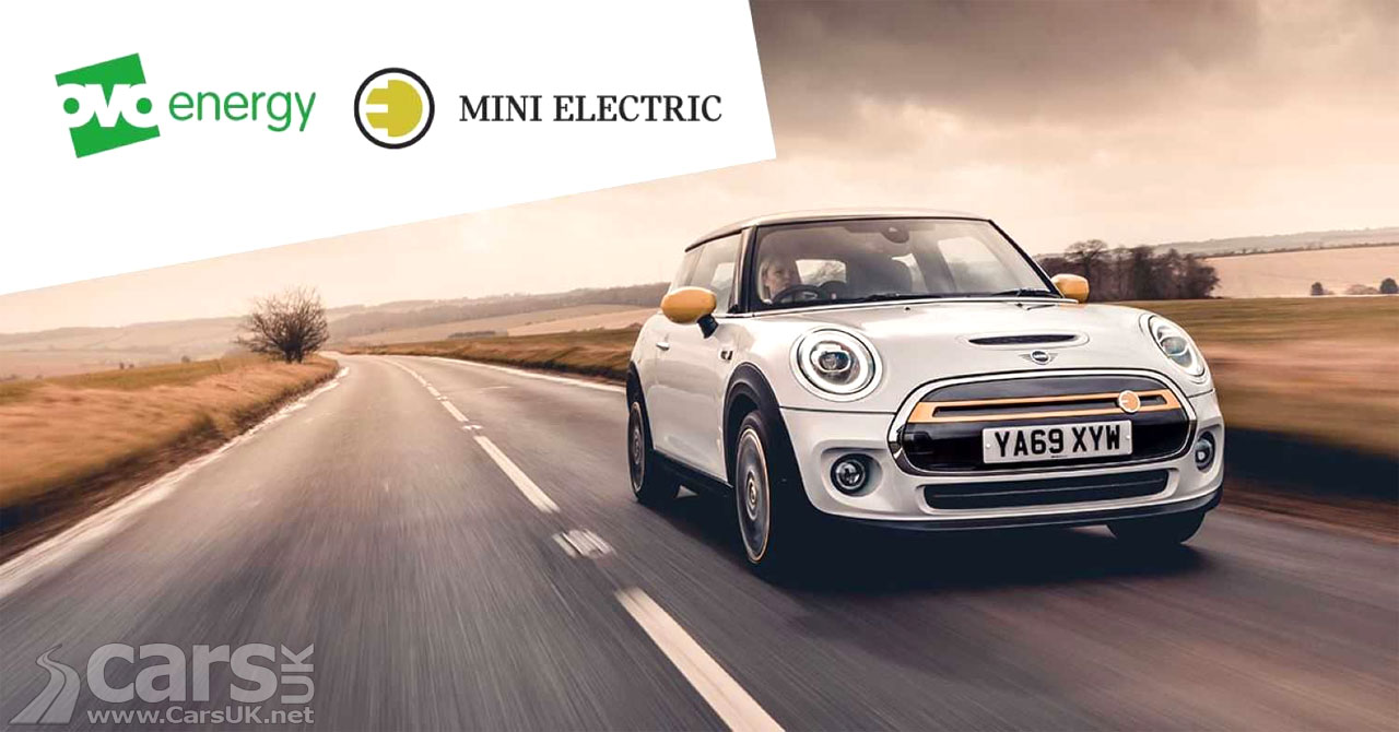 Photo MINI has teamed up with OVO Energy