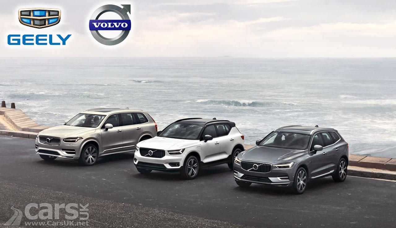 Photo Volvo Geely Merge