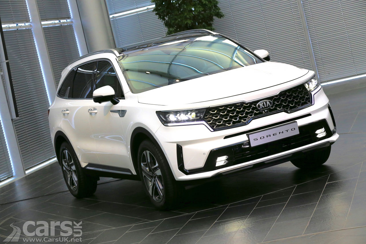 Photo New Kia Sorento SUV