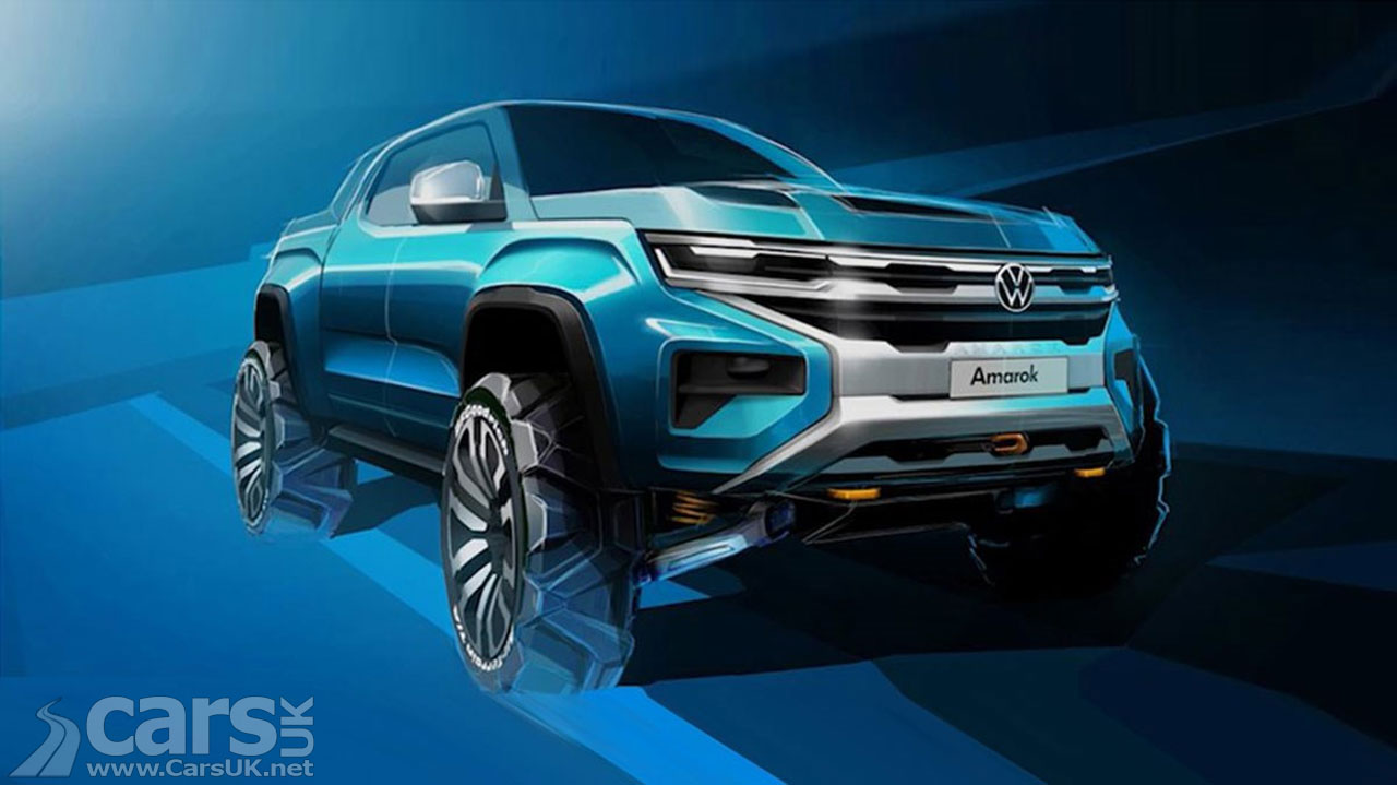 Photo 2021 Volkswagen Amarok Tease