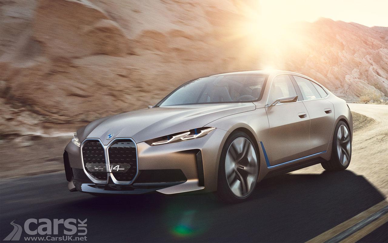 Photo Electric BMW Concept i4