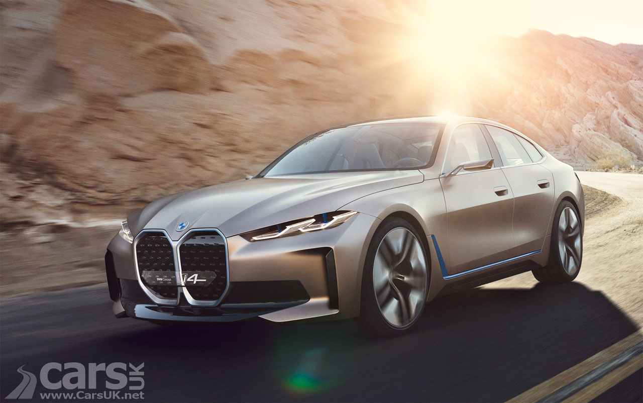 Photo BMW Concept i4 officially revealed