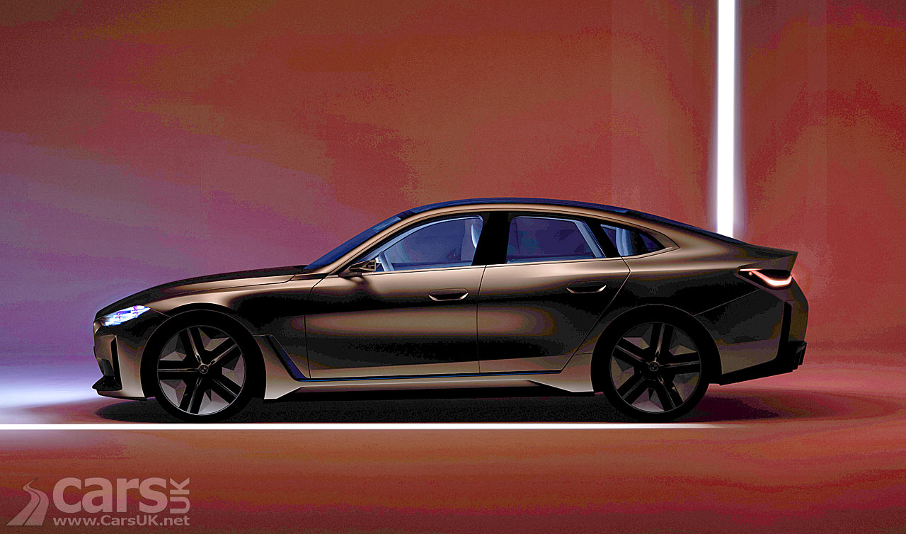 Photo BMW Concept i4 Final tease